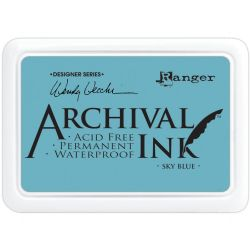 Ranger, Wendy Vecchi Archival Ink Pad - Sky Blue